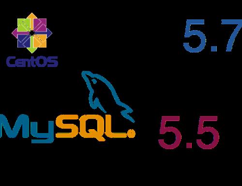 Upgrade MySQL from 5.5 to 5.7 on CentOS