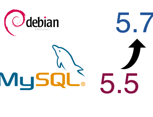 Upgrade MySQL from 5.5 to 5.7 on Debian