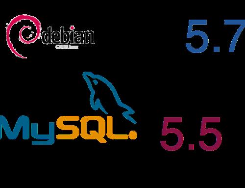 Upgrade MySQL from 5.5 to 5.7 on Debian
